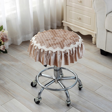 Four Seasons Thicker Small Pad Stool Pad Stool Cushion Round Seat Pad Round Stool Cushion new european top grade embroidery cushion sell like hot cakes four seasons pleuche gm direct manufacturers in the cushion