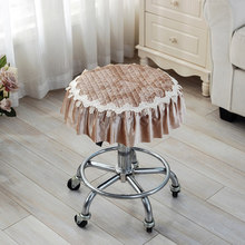 Four Seasons Thicker Small Pad Stool Pad Stool Cushion Round Seat Pad Round Stool Cushion colorful famille rose ceramic round seat stool