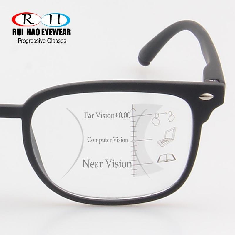 2231019ae1277 Unissex Óculos de Armação de Óculos Óculos Para Presbiopia Óculos de  Leitura Multifocal progressiva