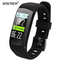 SCELTECH S906 GPS Smart Bracelet Professional IP68 Waterproof Fitness Wristband Dynamic Heart Rate Smart Band Tracker Watch