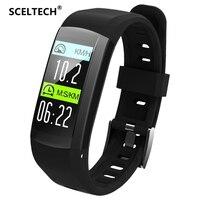 SCELTECH S906 GPS Smart Bracelet Professional IP68 Waterproof Fitness Wristband Dynamic Heart Rate Smart Band Tracker Watch