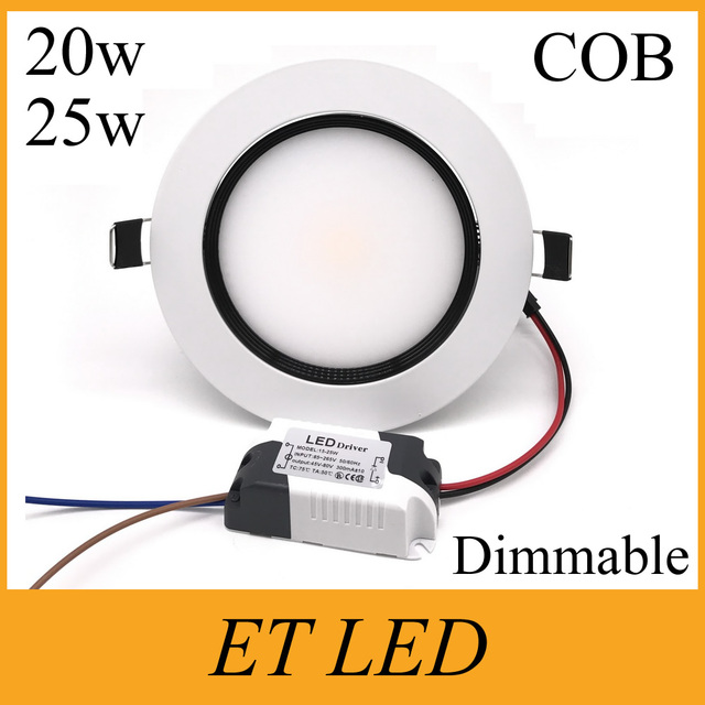 20 Pack) 5.5 inch Dimmable LED Downlight 20W 25W EASY INSTALLATION ...
