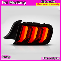 Car styling for Ford Mustang taillights LED Taillight 2015 2018 mustang US/EUR version Tail light with Dynamic turn signal