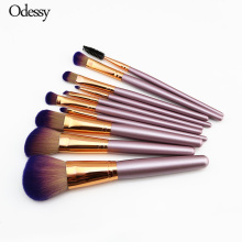 ODESSY 10 PCS Luxury Quality Makeup Brushes Professional Champagne Gold Face Foundation Blush Eye Make up Brush Set