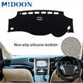 MIDOON Car Auto Dashboard Cover Dashmat Pad Carpet Dash Mat For Toyota Alphard Vellfire AH20 2008 2009 2010 2011 2012 2013 2014