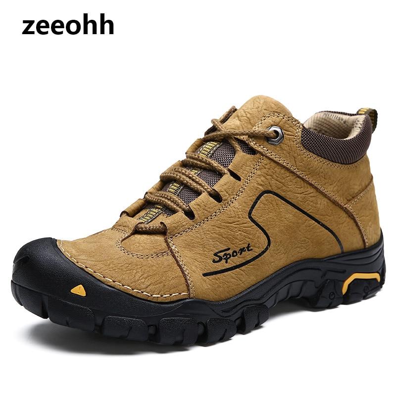 Formadores Livre Flats Hombre Couro Dos Zapatos Zapatillas Confortáveis Ao cáqui Homens Respirável Masculina Sapatos Moda chocolate Preto Casuais De Genuíno Ar p6wq4T04