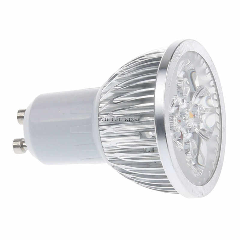 1- 10pcs Dimmable GU10 3W 9W 12W 15W Led Bulb 110V 220V Lamp Red Blue Green Cool Warm White Light Spotlight 85-265V