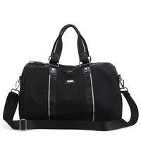 2017 New Women Handbag Waterproof Oxford Cloth Men Travel Bag Big Tote Bag Large Capacity Casual