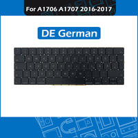 10pcs/Lot For Macbook Pro Retina 13 15 Touch Bar A1706 A1707 DE Germany German Keyboard Replacement 2016 2017