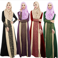 M L XL Muslim Women Dress Latest Design Appliques Adult New Sale Turkish Abaya Muslims Dress