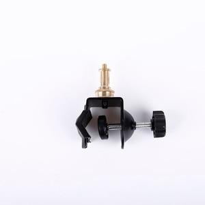 Image 2 - Медная головка CY горячая Распродажа, 1 шт., сверхмощный C образный зажим, тип U образного зажима, освещение для фотостудии с подставкой, винт 1/4 дюйма для студийной вспышки камеры