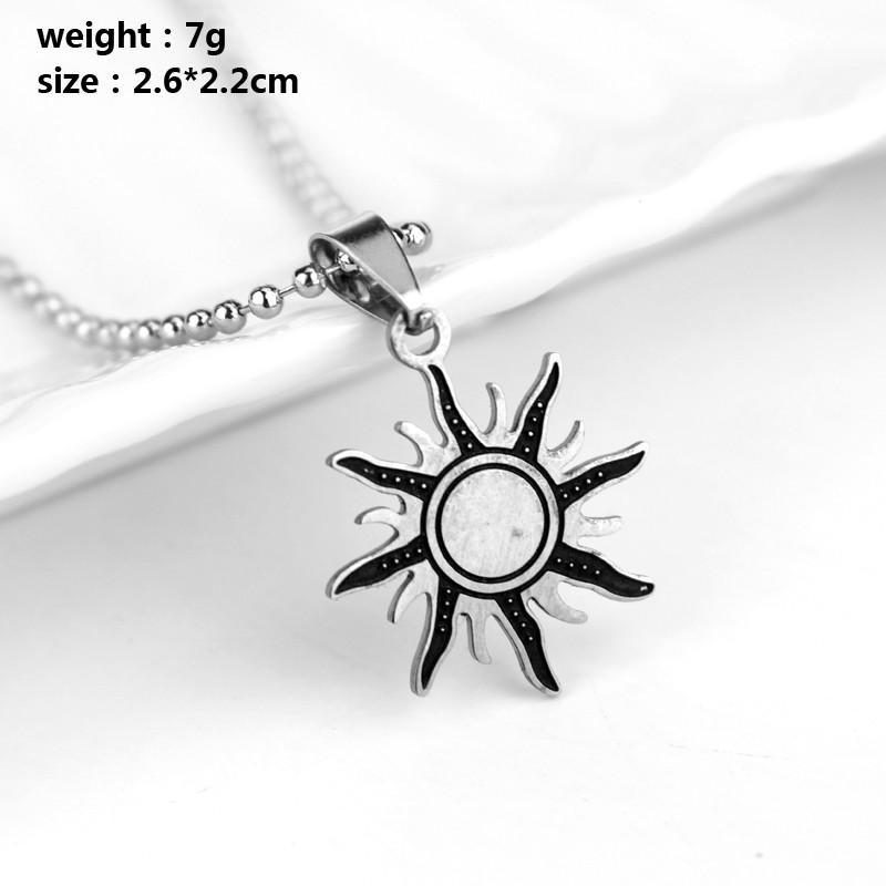 Supernatural Anti Possession Necklace Dean Sun Symbol Sigil Demon