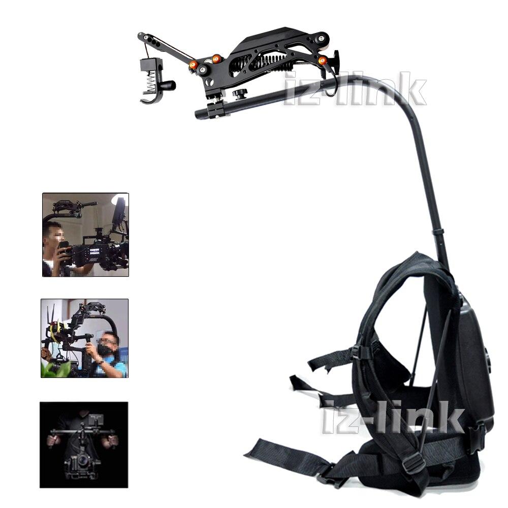 Como carga Easyrig 3-10 KG 6lbs-22 lbs brazo de amortiguación sereno + cuerpo de soporte estable Flowcine para película de vídeo.