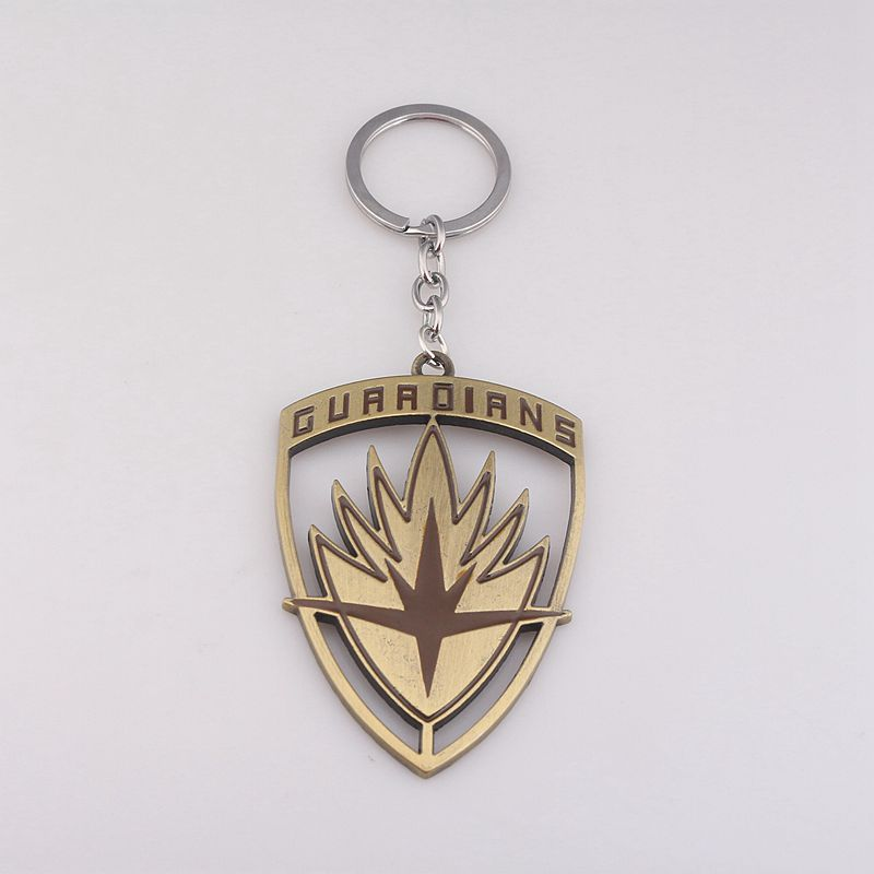 Movie Guardians of the Galaxy Keychain Chaveiro Metal Key Chain Ring