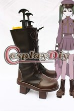 Vocaloid Project DIVA- 2nd Hatsune Mikuo Cosplay Boots Adult Women Girls Cosplay High Heeled Strange Style Shoes