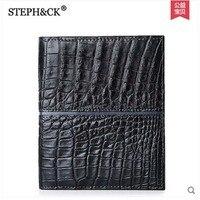 2018 shidifeni Крокодил бумажник мужской кошелек из натуральной кожи крокодила мужчины бумажник бизнес бумажник