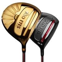PGM Golf Driver Club DAT55 Titanium Ultra light High Elasticity Golf Club 1Wooden Men Graphite Shaft R S Flex Driver with Cover