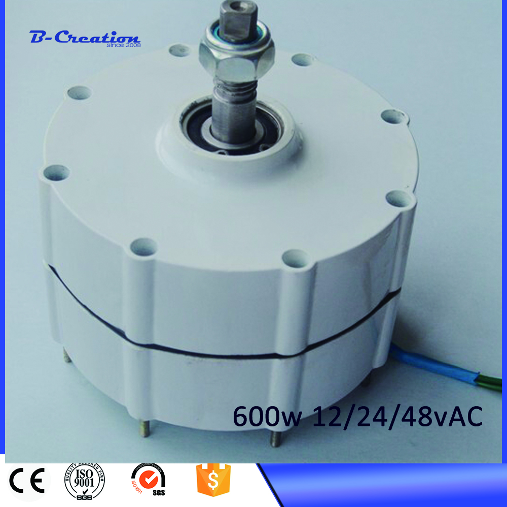 Alternator For Wind Generator Rushed 2017 Hot!!600w 650r/m Magnetic Power Generator 600w Permanent Magnet Ac Alternator On Sale 2017 permanent magnet generator 2kw 48v 96 ac alternator for wind three phase alternative energy for sale for home use