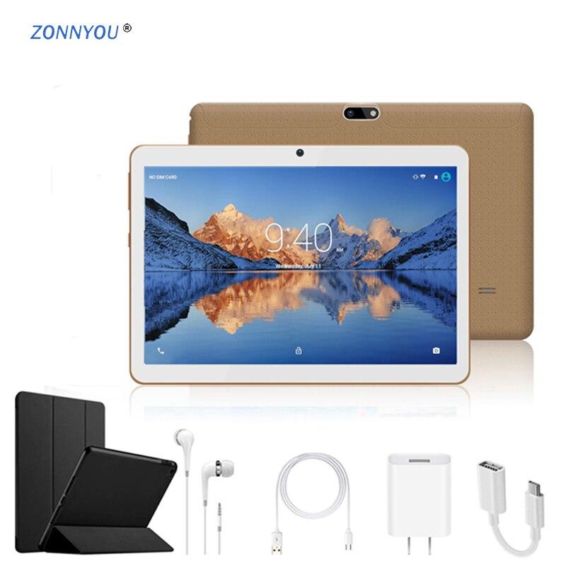 10.1 Inch Tablet PC Android 8.0 4G 3G Phone Call Octa Core 4GB RAM 64GB Dual SIM 5.0MP GPS Bluetooth Wi-Fi Bluetooth Keyboard