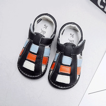 Genuine Leather Shoes Baby Girls Sandals Newborn Soft Shoes summer season toddler ladies sandals tender child lady footwear closed toe
