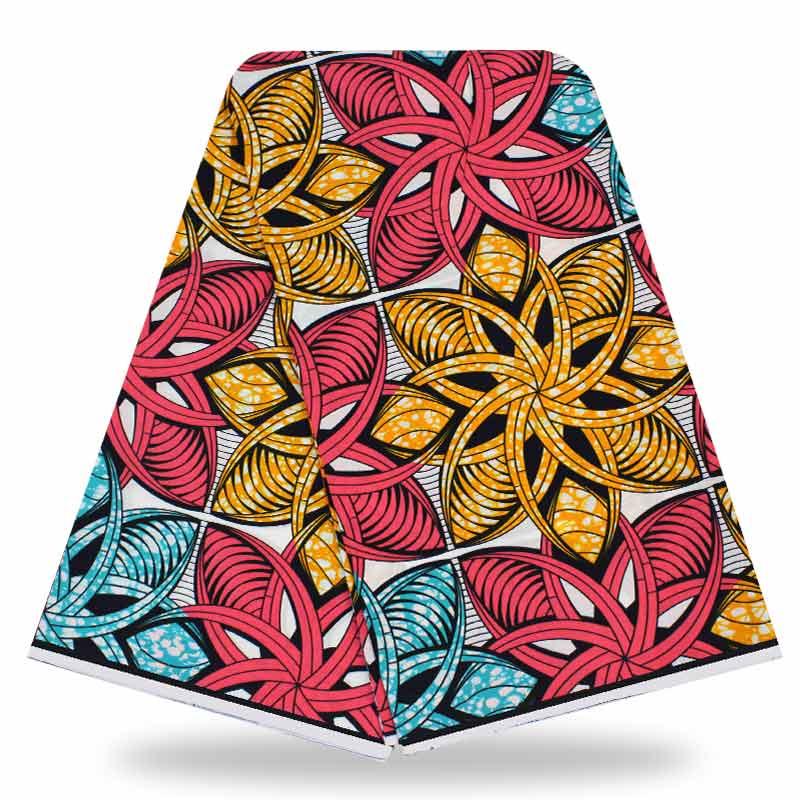 இNueva llegada de Nigeria algodón Ghana Ankara Super cera ... e9f65f6f33222