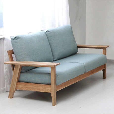 Enjoyable Living Room Sofas Couches For Living Room Furniture Home Furniture Solid Wood Oak Sofa Bed Minimalist Recliner Lounge Chair New Pabps2019 Chair Design Images Pabps2019Com