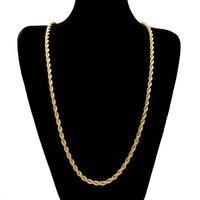 Erklärung Schmuck Gold Filled Halskette Herren Schmuck Trendy Lange Seil Kette 30