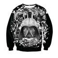 New Fashion Mens/Womens Star Wars B&W 3D Print Casual Sweatshirt S M L XL XXL 3XL 4XL 5XL 6XL
