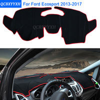 Car Styling Dashboard Protective Mat Shade Cushion Photophobism Pad Interior Carpet For Ford Ecosport 2013 2017