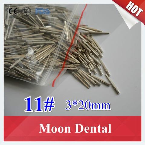 Venda quente 1000 p s caixa ferramentas de material dental 11 3 20mm pinos de
