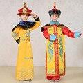 Crianças Traje Da Dinastia Qing Imperador Kangxi Rainha Menina Dança Crianças Vestido Cheongsam Chinês Ming Príncipe Imperial Traje Robe 18