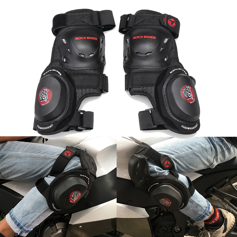 Moto Knee Motocross-Protector Protective-Gear Leggings Brace Support Knight