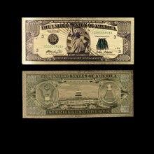 Цветная банкнота в США за один миллион долларов США, Билл за ненастоящие деньги, драгоценный подарок для украшения дома и коллекции с