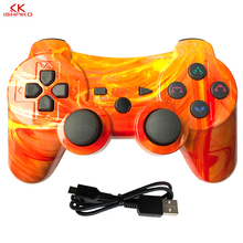 Multicolored Bluetooth Controller For SONY PS3 Gamepad For Play Station 3 Wireless Joystick For Playstation 3 PC SIXAXIS Control цена и фото