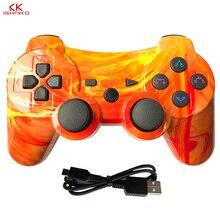 Çok renkli Bluetooth denetleyicisi SONY PS3 Gamepad Play Station 3 için kablosuz oyun kolu Playstation 3 için PC SIXAXIS kontrol