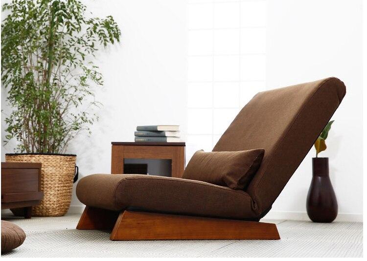 H 35 Folding Single Seat Sofa Bed Modern Fabric Japanese Living Room Furniture Armless Lounge Recliner Innrech Market.com