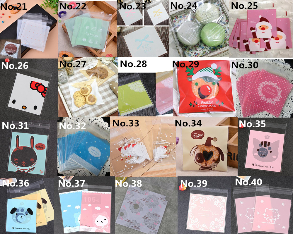 1000pcs 10x13cm Thank You Love Hello Kitty Cookie Bags Plastic Candy Sugar  Packaging Self Adhesive Bag Christmas Birthday Party-in Gift Bags    Wrapping ... f3540f35966d5