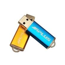 במהירות גבוהה USB פלאש מותאמת אישית מתכת Pendrive 4GB 8GB 16GB 32GB 64GB USB 2.0 חתונה Cle USB עט כונן (מעל 10pcs משלוח לוגו)