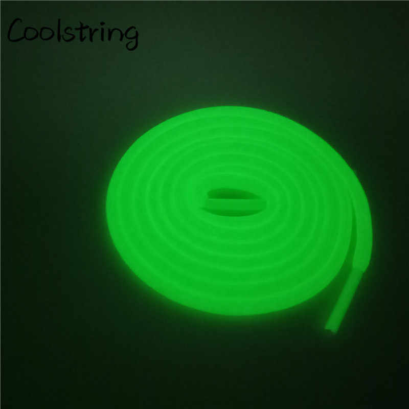 aa43aa145 ... Coolstring Sport Luminous ROUND Shoelace Glow In The Dark Night Color  Fluorescent Shoelace Athletic Sport Shoe ...