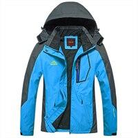 Wiosna jesień Kobiety Na Zewnątrz kurtka Wiatroszczelna Camping Piesze Wycieczki sport coat wędkowanie turystyka mountain kurtki wodoodporne kobiety niebieski