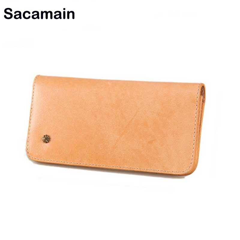 Sacamain Men Walet Top Quality Leather Long Wallet Men Pruse Mltifunction Male Clutch Bag Luxury Men Wallet Carteira Masculina