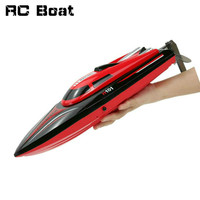 High Speed Remote Control Electric Boat H101 2.4GHz 4 Channel 30km/h RC Boat for Pools Lakes and Outdoor Adventure