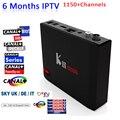 DVB-S2/T2 S912 MATAR PRO Smart Tv Box Amlogic 64 bit núcleo octa 3 GB/16 GB WiFi BT4.0 UHD 4 K Android CAIXA TV 6.0 6 Meses Europa IPTV