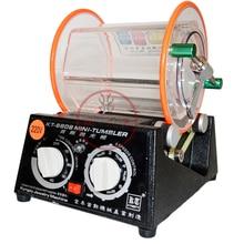 CE емкость 3 кг ювелирные изделия барабана роторная полировальная машинка стакан машина Мини Чистка ювелирных изделий отделочные инструменты
