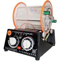 CE Capacity 3kg jewelry Drum polishing machine rotary tumbler tumbling machine Mini cleaning Jewelry Finishing Tools