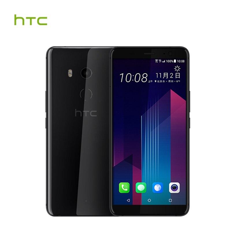 HTC U11 Plus 6 GB RAM 128 GB ROM Löwenmaul 835 Octa-core 6,0 zoll Android 8.0 1440x2880px IP68 Wasserdicht Staubdicht