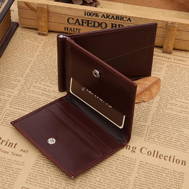 49dbc3d6b1c98 Nowych Mężczyzna Kobiet portfele krótkie prawdziwej skóry posiadacz karty  kiesy carteira masculina czarny brązowy FWH1004 mody