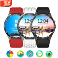 Mtk6580 kw88 smart watch android 5.1 os cpu 1.39 pulgadas pantalla 2.0mp cámara 3g wifi gps smartwatch para apple moto huawei