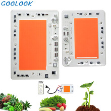 Полный спектр светодиодный светильник для выращивания, чип 100 Вт 150 Вт-10 Вт 50 Вт для комнатных растений, светильник для выращивания растений, чип-лампа с бусинами 220 В, Диодная фитолампа