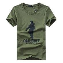 Military T-shirt Men Fashion Harajuku Print Mens T Shirt Casual Short Sleeve Tee Shirts Cotton Brand Top Tees